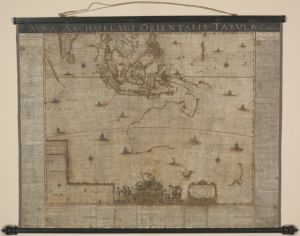 Restored 'Tasman map' on display