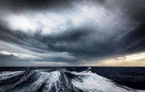 Photo accompanying an article on sailing the Southern Ocean, in  Yachting World