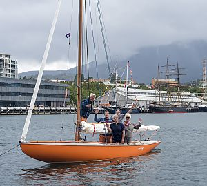 Dutch wooden boats in Hobart